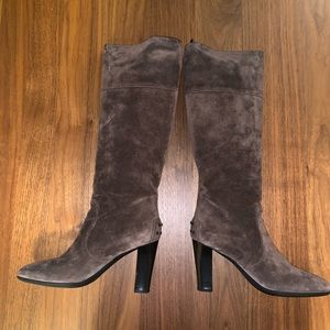 Tod's Suede High Heel Boots